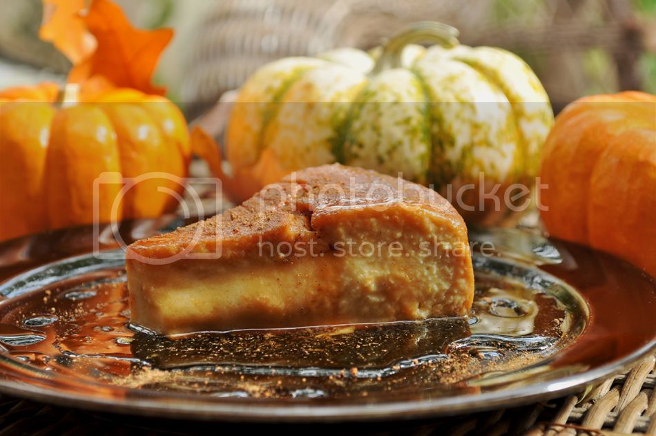 pumpkin spice flan 