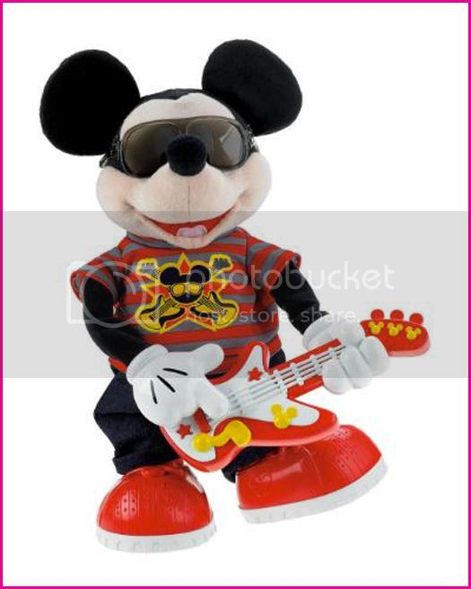 Fisher Price Rockstar Mickey