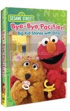 Sesame Street Bye Bye, Pacifier! Big Kid Stories with Elmo