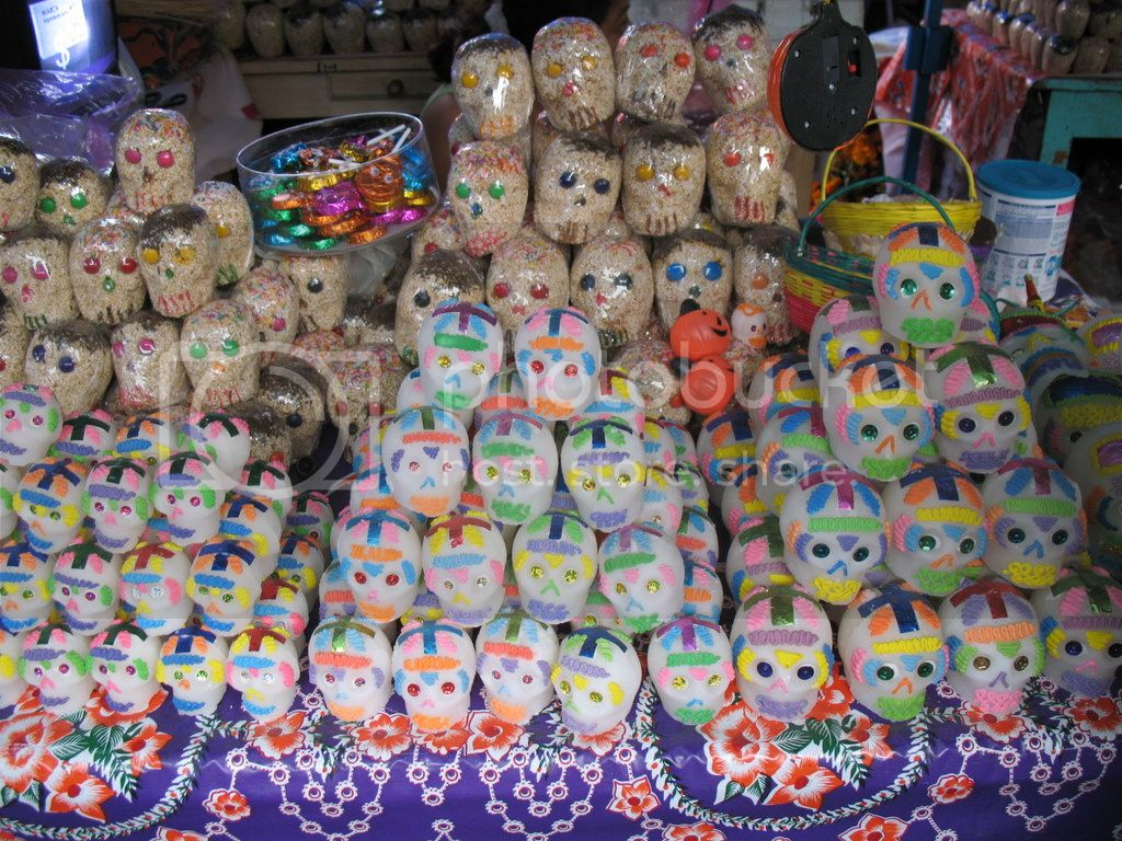 Day of the Dead Dia de los Muertos Oaxaca Mexico sugar skulls