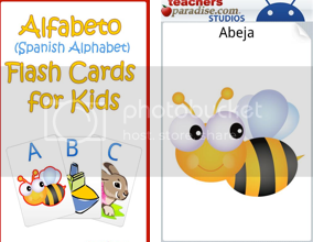 Alfabeto Flash Cards for kids