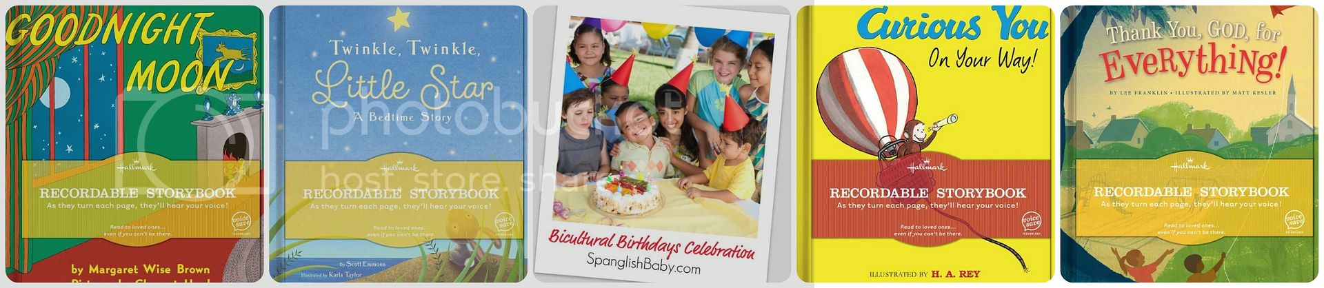Hallmark recordable storybook giveaway bicultural birthday celebrations