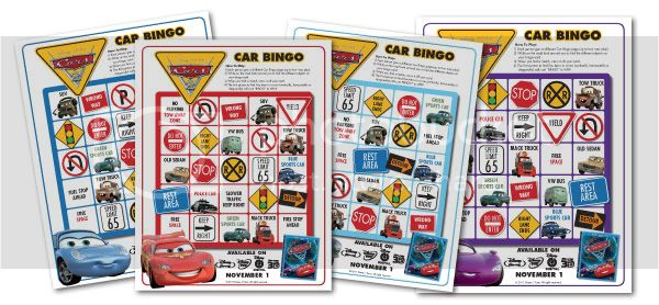 Disney Pixar Cars 2 Activity
