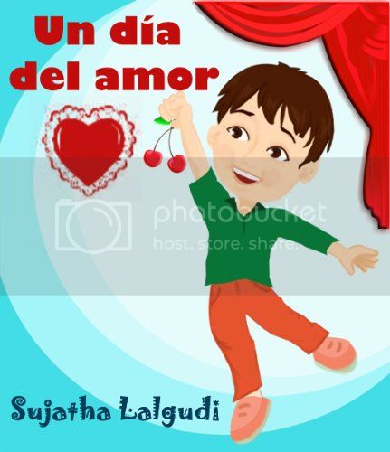 Bilingual books for Valentine's