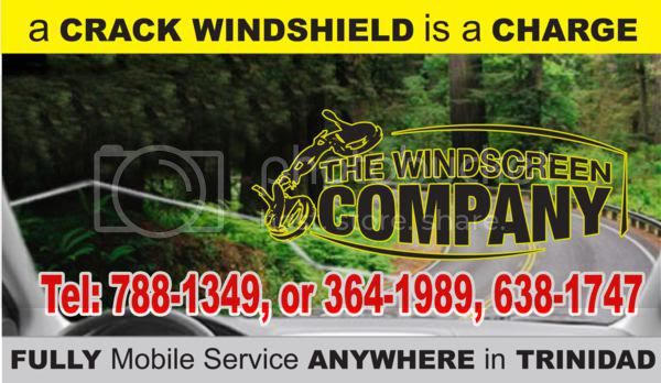 Windscreen repairs in Trinidad and Tobago