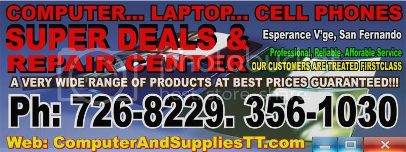 Computer and Laptop repair and sales Blackberry cell phone for sale in Trinidad and Tobago
